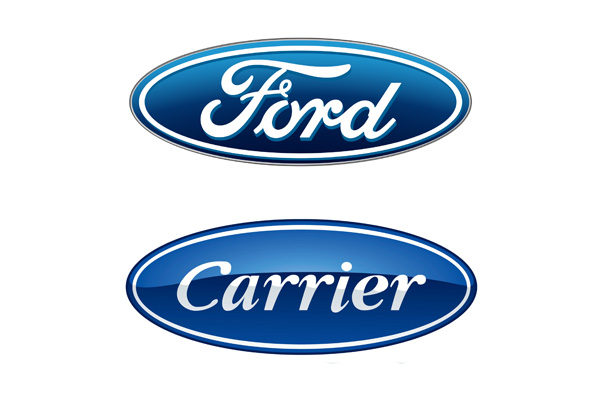 Ford-Carrier-logos